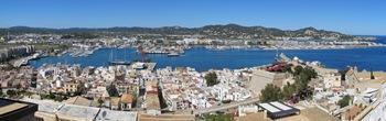 Ibiza Hafen Panorama