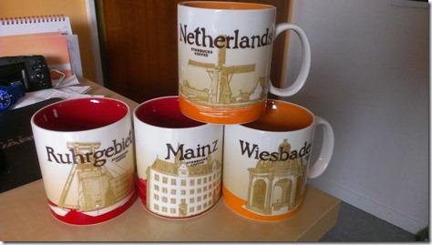 Starbucks Mugs Ruhrgebiet Mainz Wiesbaden Niederlande