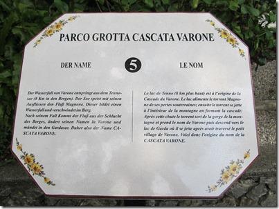 Wasserfall Cascata Varone