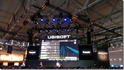 Der Stand von Ubisoft auf der Gamescom