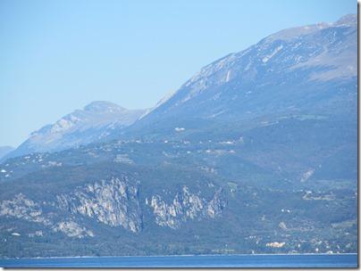 Sirmione Richtung Monte Baldo