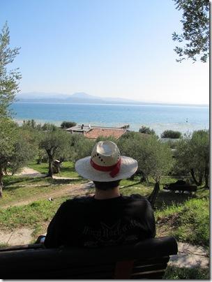 Der Gardasee aus meiner Perspektive