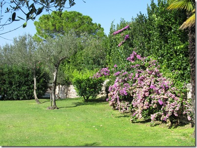 Garten in Sirmione