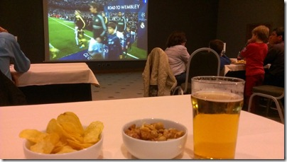 Championsleague Halbfinale BVB vs Real Madrid im Hotel geschaut