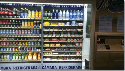 Barcelona Metro Nahrungsmittelautomat