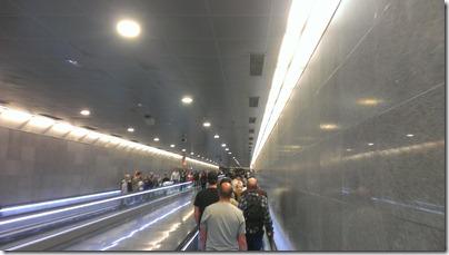 Barcelona Metro Laufband