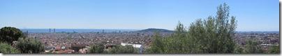 Barcelona Panorama vom Park Güell