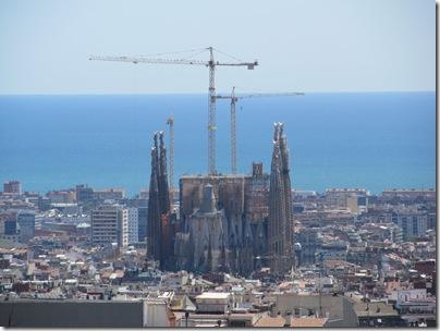 Sagrada Familia von Park Güell