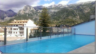 Pool vom Gran Hotel Soller