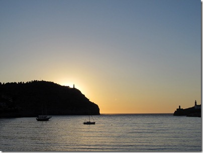 Port de Soller Sonnenuntergang
