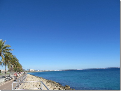 Küste von Palma de Mallorca