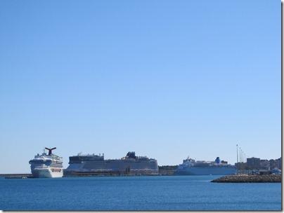 Kreuzfahrtschiffe in Palma de Mallorca