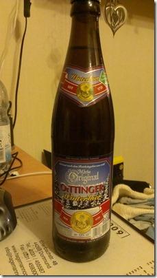 BierSonntag Oettinger Winterbier