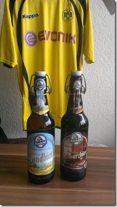 BierSonntag Mönchshof Landbier und Schwarzbier