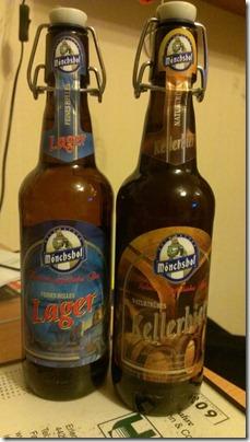 Bier Sonntag Mönchshof Lager und Kellerbier
