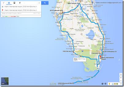 Urlaub 2014 - Florida Roadtrip