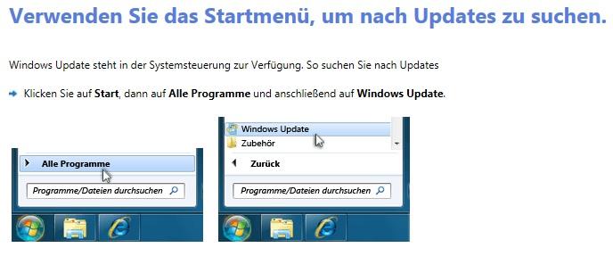 Microsoft Update Fehler