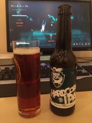 Brewdog Hardcore IPA bei einer Runder Diablo 3