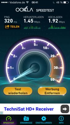WiFi_Test_FlughafenDuesseldorf
